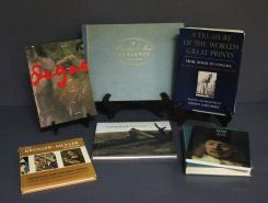 Collection of Seven Art Reference Books