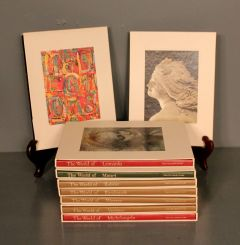 Collection of Nine Time Life Library Art Books