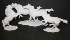 Group of Three Kaiser Porcelain Figurines