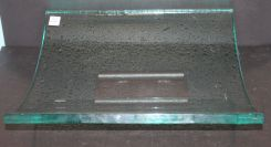Hand Blown Glass Centerpiece on Stand