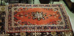 Semi Antique Persian Kerman 4 x 6.8