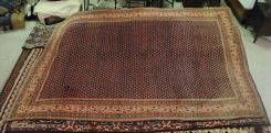 Semi Antique Persian Saraband 7.8 x 11.2