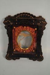 Rare Eclectic Black Eastlake Design Frame