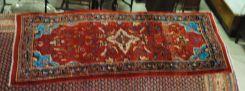 Semi Antique Persian Sarouk 3.5 x 8.4