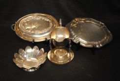 Various Silver plated Items