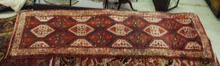 Semi Antique Persian Malayer 3.6 x 10.2