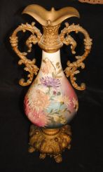 Mid 20th Century Porcelain and Speller Urn