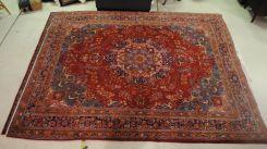 Semi Antique Persian Mashad 9.3 x 12.4