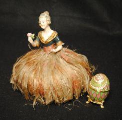 Pin Cushion and Decorative Egg