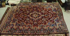 Semi Antique Persian Kerman 8.4 x 11.4