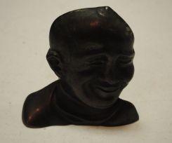 Mid-20th Century Bronze head - Figure of Knute Rockne