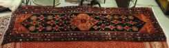 Semi Antique Persian Malayer 3.5 x 10.3
