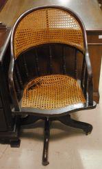 Wicker Office Chair