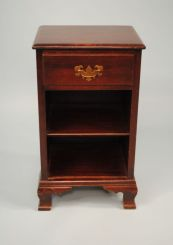 Circa 1930 One Drawer Colonial Style Bedside Stand
