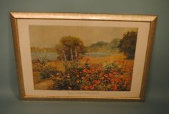 Contemporary Print of Poppies