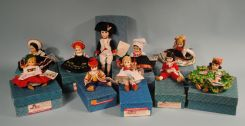 Collection of 10 Madame Alexander Dolls, Countries of the World, Napoleon, Red Boy